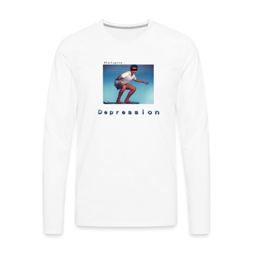 Depression album merchandise - Men's Premium Long Sleeve T-Shirt
