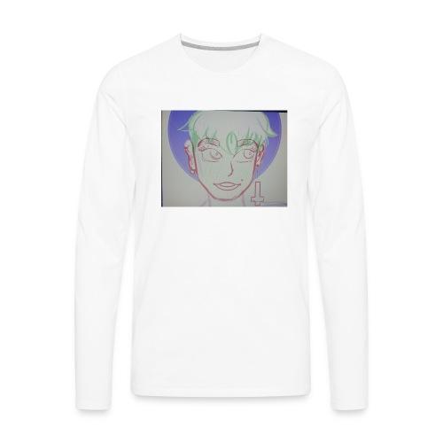 Temp drawing - Men's Premium Long Sleeve T-Shirt