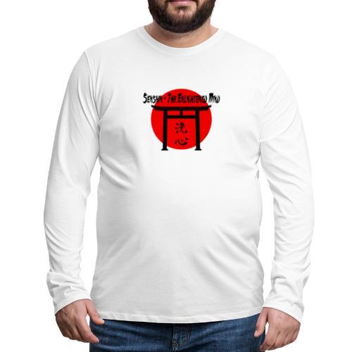 Senshin: The Enlightened Mind - Men's Premium Long Sleeve T-Shirt