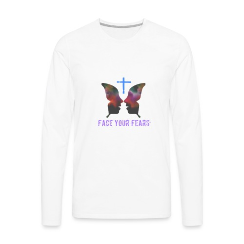 Face your fears - Men's Premium Long Sleeve T-Shirt
