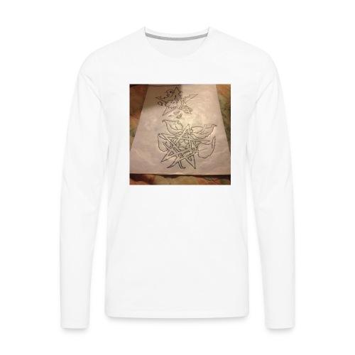 My own designs - Men's Premium Long Sleeve T-Shirt