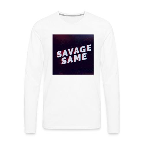 Real Savage - Men's Premium Long Sleeve T-Shirt
