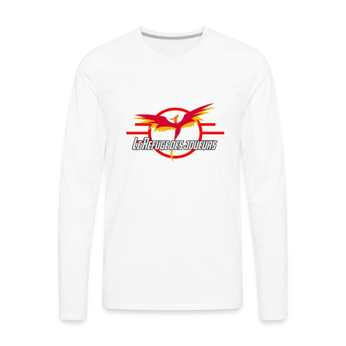 Official Logo LRJ - Men's Premium Long Sleeve T-Shirt