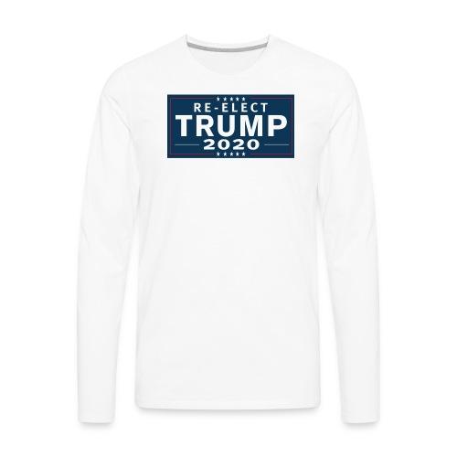 Trump 2020 Merchandise - Men's Premium Long Sleeve T-Shirt