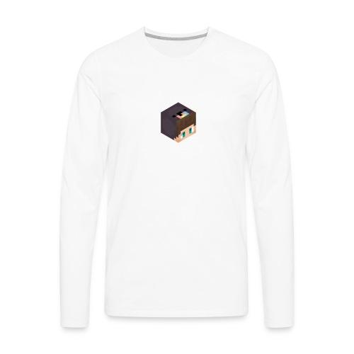 Matt123So 3D Head - Men's Premium Long Sleeve T-Shirt