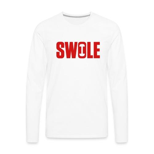 SWOLE - Men's Premium Long Sleeve T-Shirt