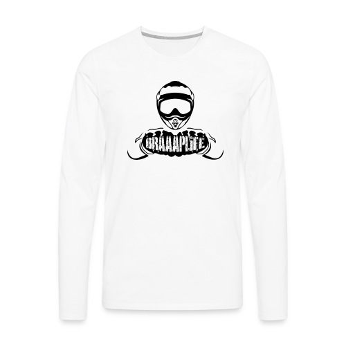 Braaaplife - Men's Premium Long Sleeve T-Shirt