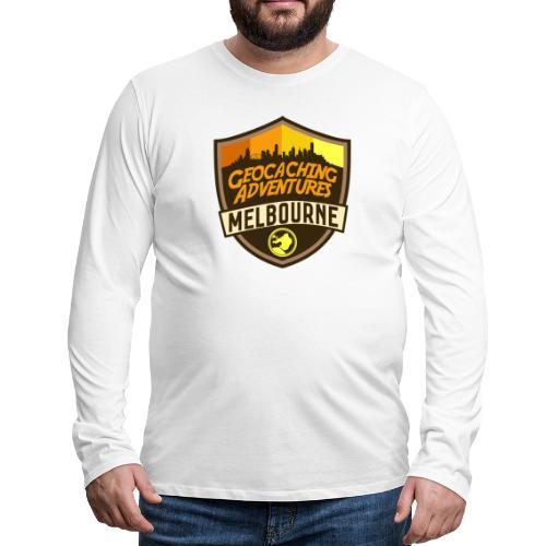 GCMelb Orange - Men's Premium Long Sleeve T-Shirt