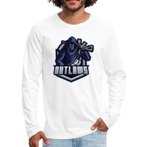 Outlaws Gaming Clan - Men's Premium Long Sleeve T-Shirt