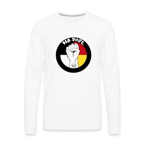 NoDAPL by Kardena Manycows (artist) - Men's Premium Long Sleeve T-Shirt