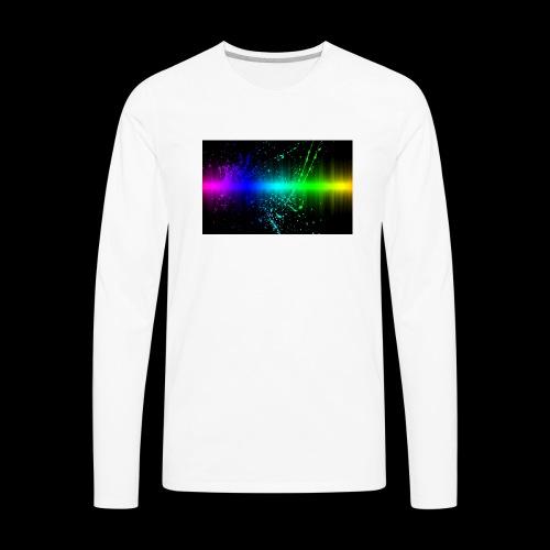 color rush - Men's Premium Long Sleeve T-Shirt