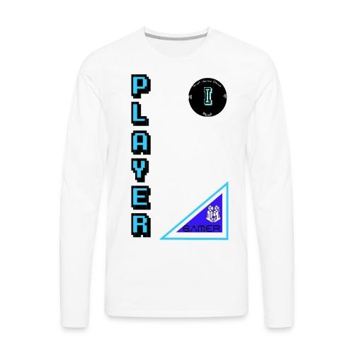 Guerrero Gamer, Warrior gamer - Men's Premium Long Sleeve T-Shirt