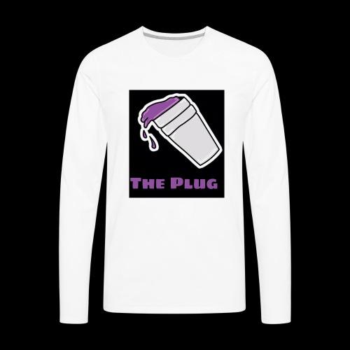 the Plug logo - Men's Premium Long Sleeve T-Shirt
