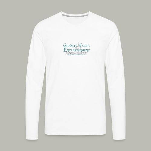 Baseball full GCE logo shirt - Men's Premium Long Sleeve T-Shirt