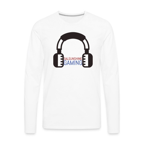 salsunshine gaming logo - Men's Premium Long Sleeve T-Shirt