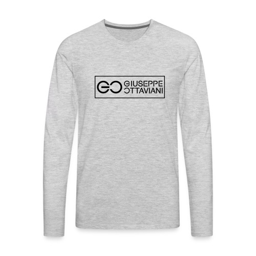 GO logo small - Men's Premium Long Sleeve T-Shirt