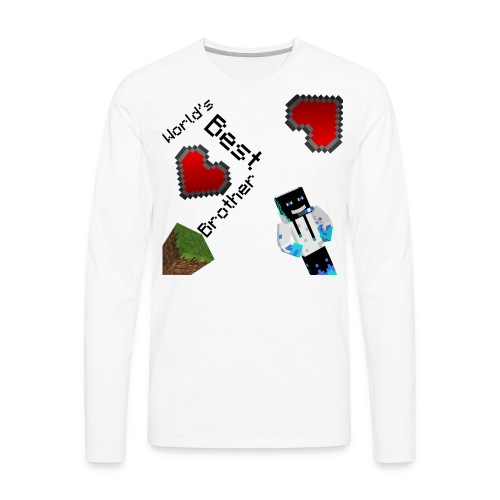 Worlds Best Brother - Men's Premium Long Sleeve T-Shirt