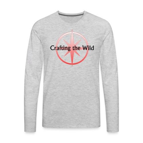 Crafting The Wild - Men's Premium Long Sleeve T-Shirt