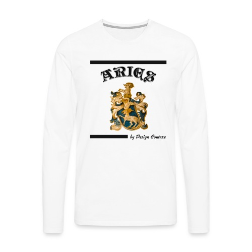ARIES BLACK - Men's Premium Long Sleeve T-Shirt