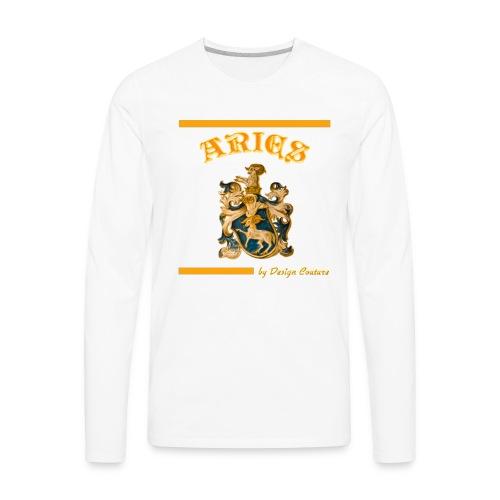 ARIES ORANGE - Men's Premium Long Sleeve T-Shirt