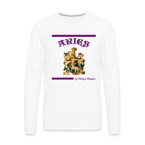 ARIES PURPLE - Men's Premium Long Sleeve T-Shirt