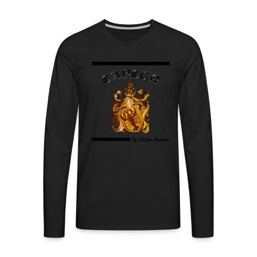 CANCER BLACK - Men's Premium Long Sleeve T-Shirt