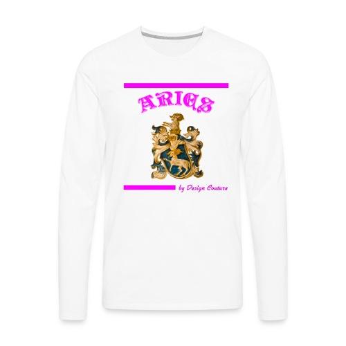 ARIES PINK - Men's Premium Long Sleeve T-Shirt