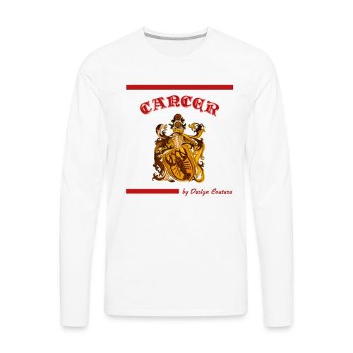 CANCER RED - Men's Premium Long Sleeve T-Shirt