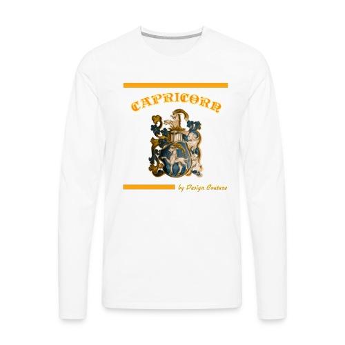 CAPRICORN ORANGE - Men's Premium Long Sleeve T-Shirt