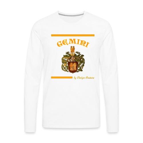 GEMINI ORANGE - Men's Premium Long Sleeve T-Shirt
