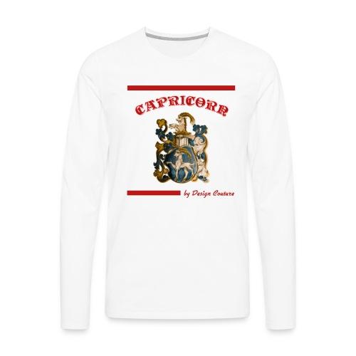 CAPRICORN RED - Men's Premium Long Sleeve T-Shirt