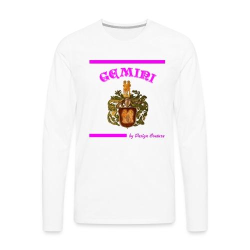 GEMINI PINK - Men's Premium Long Sleeve T-Shirt
