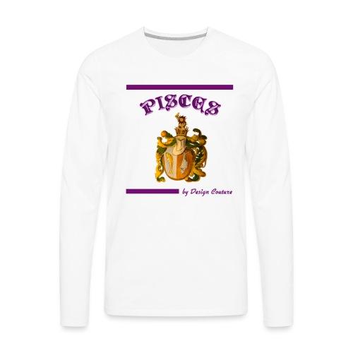 PISCES PURPLE - Men's Premium Long Sleeve T-Shirt
