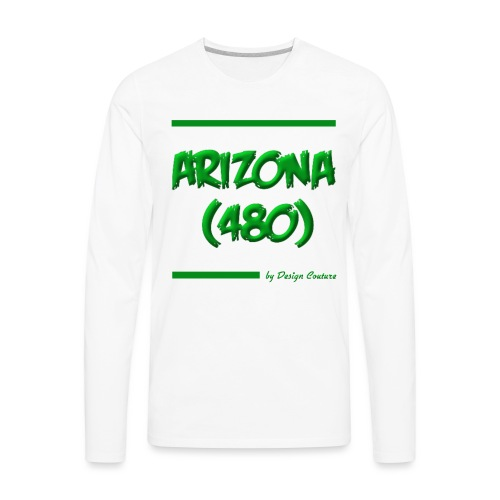 ARIZON 480 GREEN - Men's Premium Long Sleeve T-Shirt