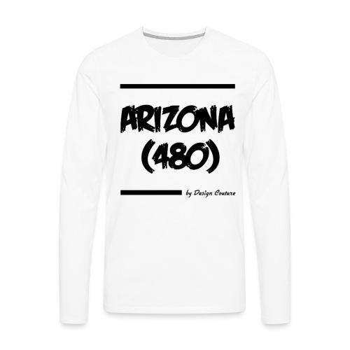 ARIZON 480 BLACK - Men's Premium Long Sleeve T-Shirt