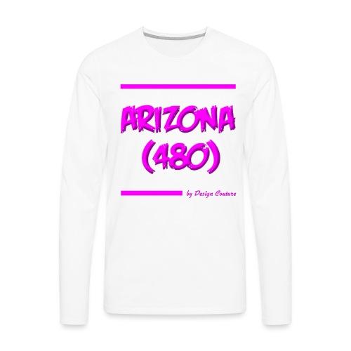 ARIZON 480 PINK - Men's Premium Long Sleeve T-Shirt