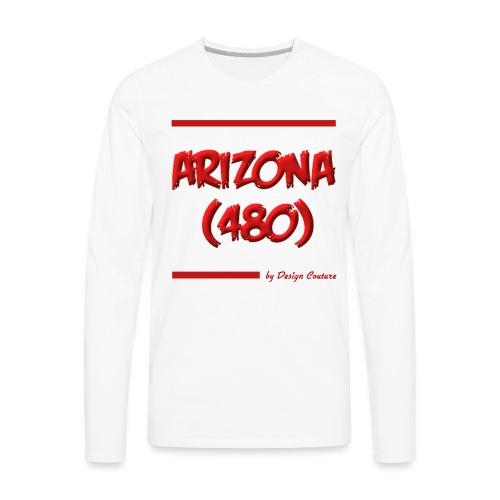 ARIZON 480 RED - Men's Premium Long Sleeve T-Shirt
