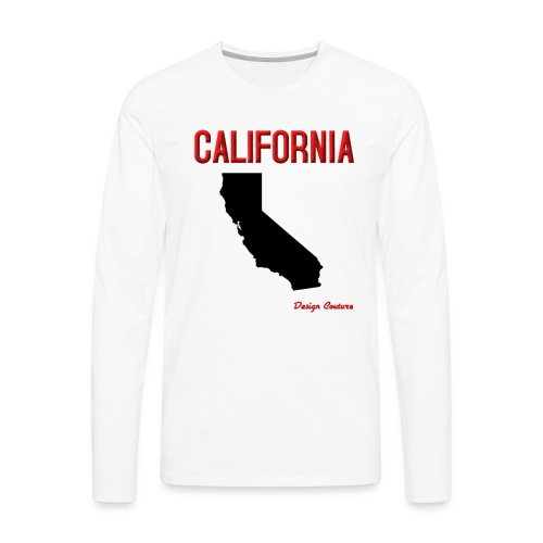 CALIFORNIA RED - Men's Premium Long Sleeve T-Shirt