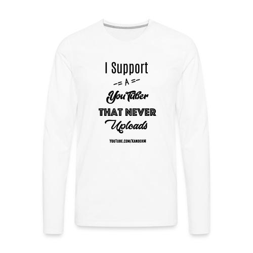 Xander Logo 3 - Men's Premium Long Sleeve T-Shirt