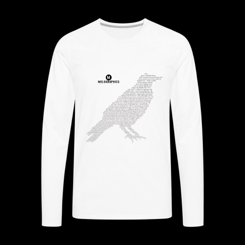 Quoth the Raven - Men's Premium Long Sleeve T-Shirt