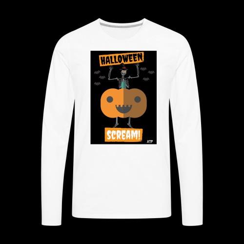 Halloween night - Men's Premium Long Sleeve T-Shirt