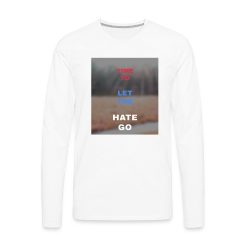 Time 2 let go - Men's Premium Long Sleeve T-Shirt