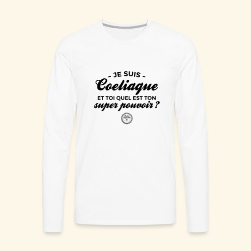 Celiac superpower - Men's Premium Long Sleeve T-Shirt