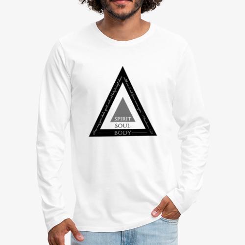 Spirit Soul Body - Men's Premium Long Sleeve T-Shirt