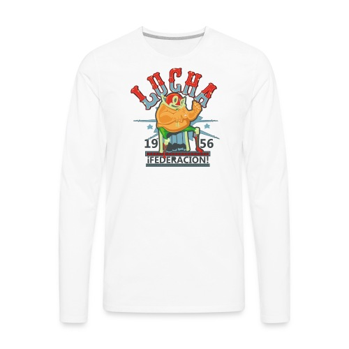 luchador - Men's Premium Long Sleeve T-Shirt