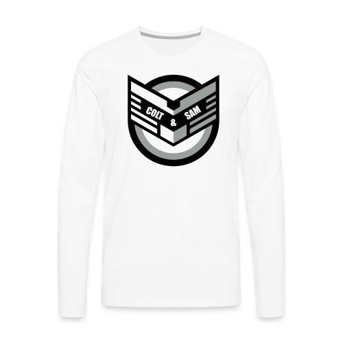 COLT AND SAM LOGO - Men's Premium Long Sleeve T-Shirt