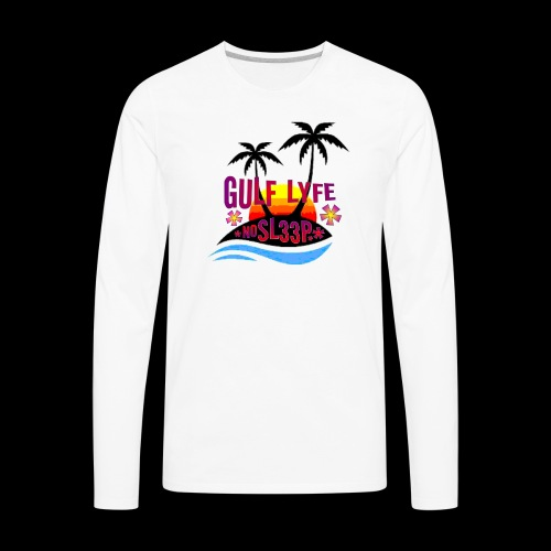 Gulf Lyfe - Men's Premium Long Sleeve T-Shirt