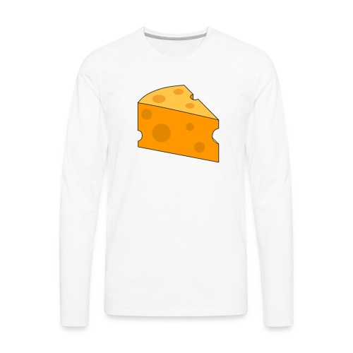 Cheese Design - Men's Premium Long Sleeve T-Shirt