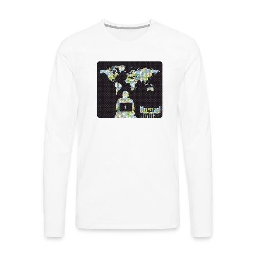 NomadButNomad working world wide - Men's Premium Long Sleeve T-Shirt