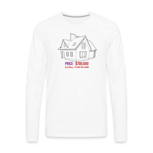 Fannie & Freddie Joke - Men's Premium Long Sleeve T-Shirt